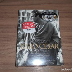 Cine: JULIO CESAR EDICION LUJO RESTAURADA DVD + 20 FOTOGRAFIAS + CARTELES CINE ET MARLON BRANDO PRECINTADA. Lote 194859913