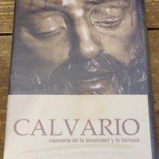 Cine: SEMANA SANTA SEVILLA, DVD CALVARIO MEMORIA DE LA SERIEDAD Y LA TERNURA, PRECINTADO. Lote 132995471