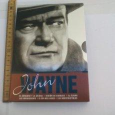 Cine: JOHN WAYNE LA PERSONALIDAD ESTUCHE CON 6 PELÍCULAS EN DVD ACTORES & DIRECTORES ESENCIALES. Lote 108870987