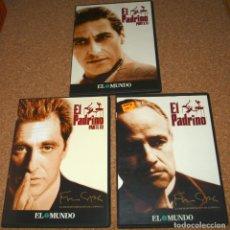Cine: DVD - EL PADRINO LAS 3 PELICULAS - EL MUNDO- VISIONADAS UNA SOLA VEZ-IMPORTANTE LEER TODO-FOTOS. Lote 108876651