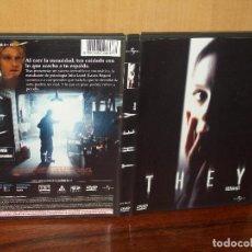 Cine: THEY (ELLOS) - DIRIGIDA POR ROBERT HARMON - DVD. Lote 244970060