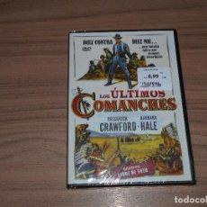 Cine: LOS ULTIMOS COMANCHES DVD DE ANDRE TOTH BRODERICK CRAWFORD NUEVA PRECINTADA. Lote 207235146