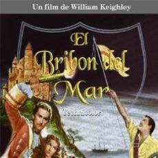 Cine: EL BRIBON DEL MAR - ERROL FLYNN, ANTHONY STEEL DVD NUEVO. Lote 109030247