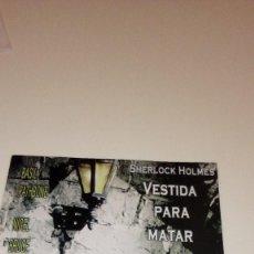 Cine: CAJ-261217 DVD VESTIDA PARA MATAR SHERLOCK HOLMES . Lote 109052895