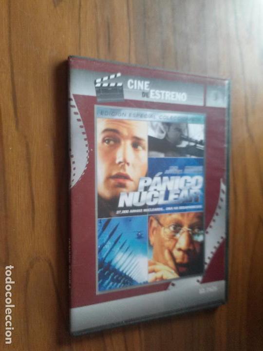 PANICO NUCLEAR. BEN AFFLECK. MORGAN FREEMAN. CAJA ESTRECHA. PRECINTADA. SIN ABRIR (Cine - Películas - DVD)