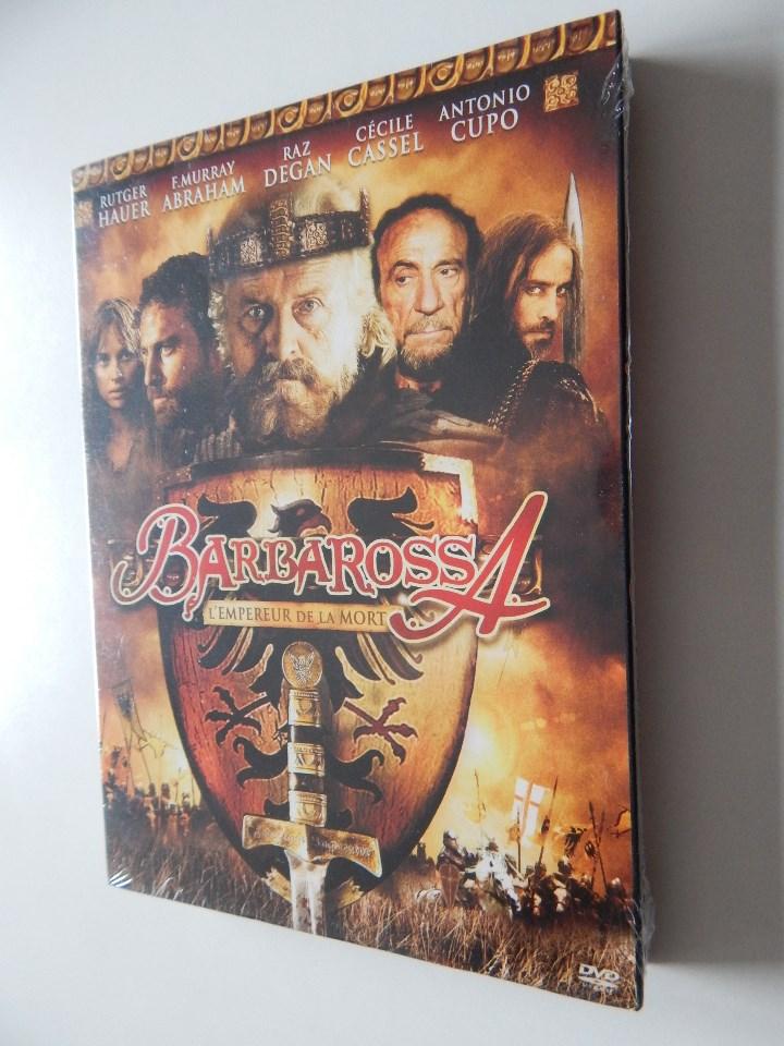 BARBAROSSA L´EMPEREUR DE LA MORT - RUTGER HAUER, F. MURRAY ABRAHAM, RAZ DEGAN, CÉCILE CAS... - NEUF (Cine - Películas - DVD)