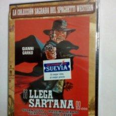 Cine: LLEGA SARTANA (GIANNI GARKO) DVD PRECINTADO. Lote 109193839