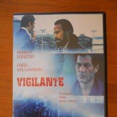 Cine: DVD VIGILANTE - ROBERT FORSTER - FRED WILLIAMSON (8F). Lote 109286027