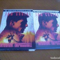 Cine: MISSION IMPOSSIBLE : TOM CRUISE : EDICION ESPECIAL 2 DISCOS COMO NUEVA. Lote 109393031
