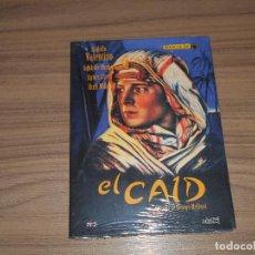 Cinema: EL CAID DVD RODOLFO VALENTINO ORIGENES DEL CINE NUEVA PRECINTADA. Lote 210418485