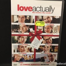 Cine: LOVE ACTUALLY - DVD. Lote 109480079
