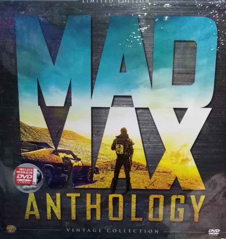 MAD MAX ANTHOLOGY. PACK 4 PELÍCULAS MAD MAX EN DVD. ED. LIMITADA VINTAGE. NUEVO. (Cine - Películas - DVD)