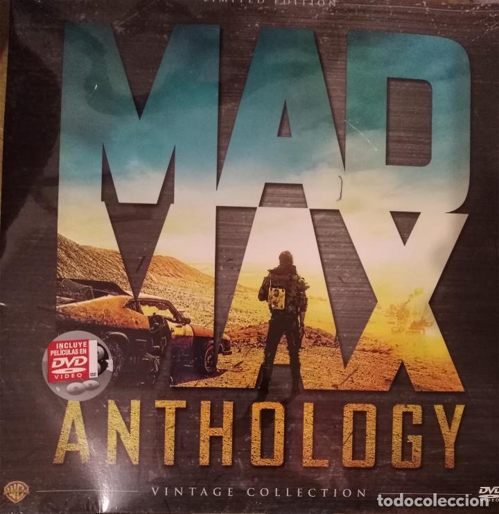 Cine: MAD MAX ANTHOLOGY. PACK 4 PELÍCULAS MAD MAX EN DVD. ED. LIMITADA VINTAGE. NUEVO. - Foto 2 - 178901330