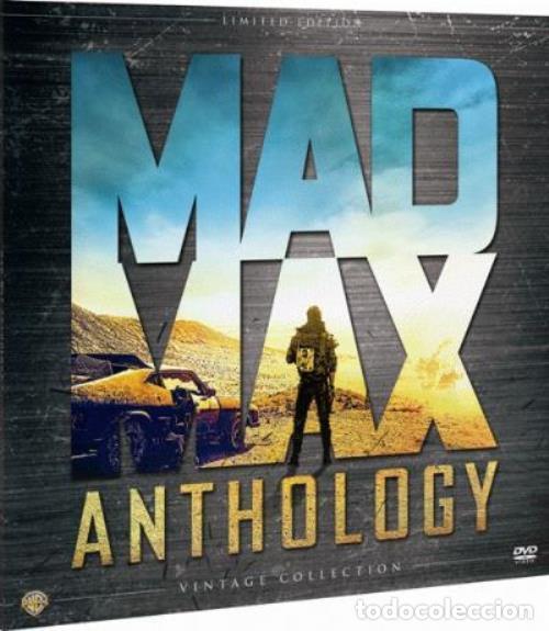 Cine: MAD MAX ANTHOLOGY. PACK 4 PELÍCULAS MAD MAX EN DVD. ED. LIMITADA VINTAGE. NUEVO. - Foto 5 - 178901330