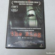 Cine: THE RING (EL CÍRCULO) DVD. Lote 109596327