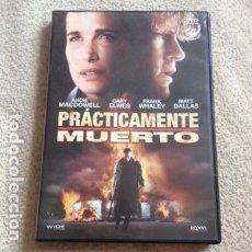 Cine: PRACTICAMENTE MUERTO DVD CON ANDIE MACDOWELL. Lote 109709431