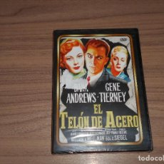 Cine: EL TELON DE ACERO DVD DANA ANDREWS GENE TIERNEY NUEVA PRECINTADA. Lote 175576208