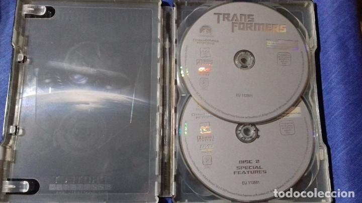 Cine: DVD TRANSFORMERS 2 DISCOS CAJA METALICA - Foto 2 - 110001287