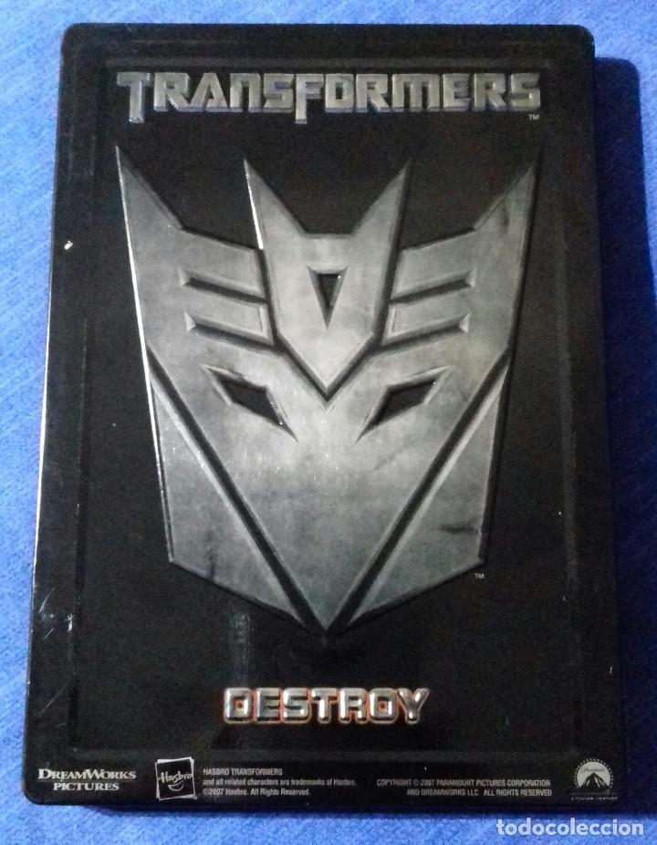 Cine: DVD TRANSFORMERS 2 DISCOS CAJA METALICA - Foto 3 - 110001287