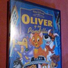 Cine: DVD. OLIVER Y SU PANDILLA. CLÁSICO DISNEY.. Lote 110043483