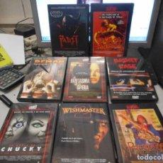 Cine: LOTE DVD TERROR PELICULA. Lote 110083219