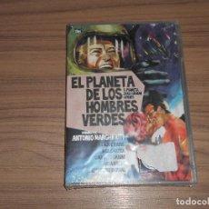 Cine: EL PLANETA DE LOS HOMBRES VERDES DVD CLAUDE RAINS NUEVA PRECINTADA. Lote 183994825