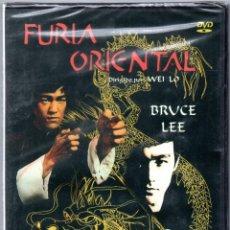Cine: DVD PRECINTADO PELÍCULA FILM FURIA ORIENTAL CON BRUCE LEE DIRIGIDO POR WEI LO. IDIOMA CASTELLANO VER. Lote 110193675