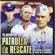 Cine: DVD PRECINTADO PELÍCULA FILM PATRULLA DE RESCATE FLIGHT FROM ASHIYA YUL BRYNNER RICHARD WIDMARK VER . Lote 110207531