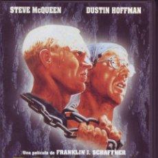 Cine: PAPILLON - STEVE MCQUEEN - DUSTIN HOFFMAN. Lote 110223443