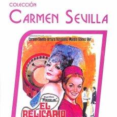 Cine: DVD EL RELICARIO - CARMEN SEVILLA. Lote 110255059