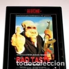 Cine: BAD TASTE (MAL GUSTO) PETER JACKSON. Lote 110409143