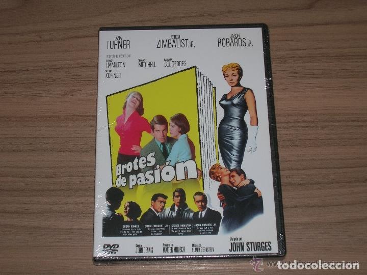 BROTES DE PASION DVD DE JOHN STURGES LARA TURNER NUEVA PRECINTADA (Cine - Películas - DVD)