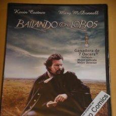 Cine: BAILANDO CON LOBOS, KEVIN COSTNER, MARY MCDONNELL, DVD PRECINTADO, ERCOM D7. Lote 110540015