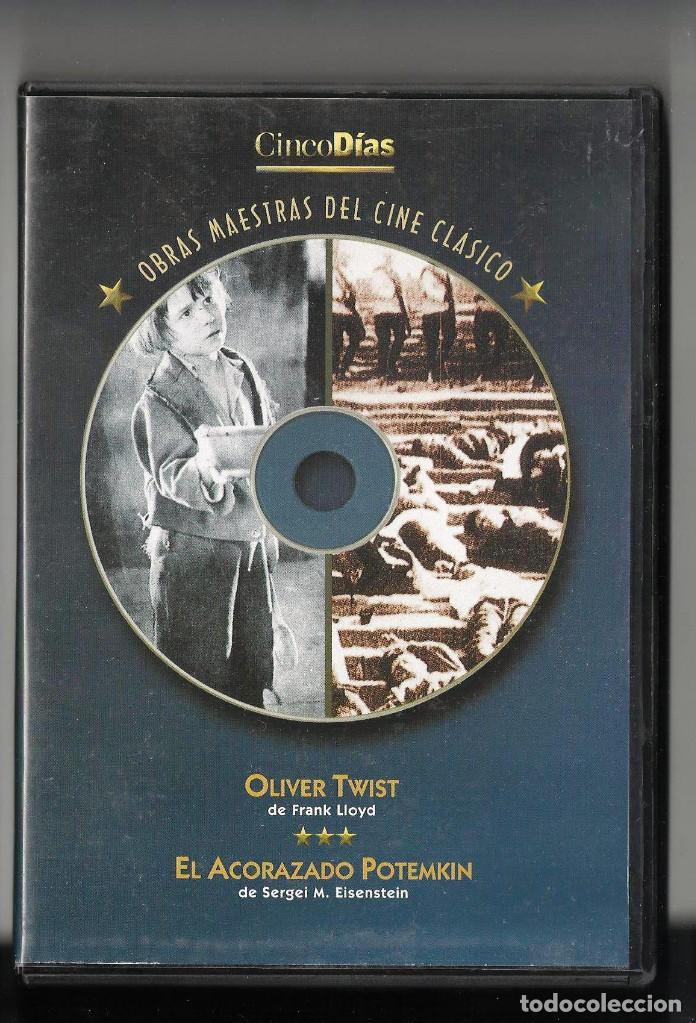 EL ACORAZADO POTEMKIN, DE EISENSTEIN + OLIVER TWIST, DE FRANK LLOYD EN UN SOLO DVD (Cine - Películas - DVD)