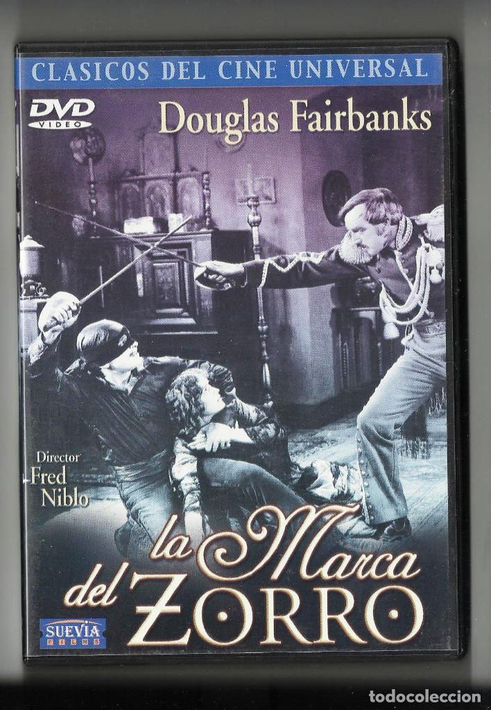 LA MARCA DEL ZORRO, DE FRED NIBLO, CON DOUGLAS FAIRBANKS. DVD (Cine - Películas - DVD)