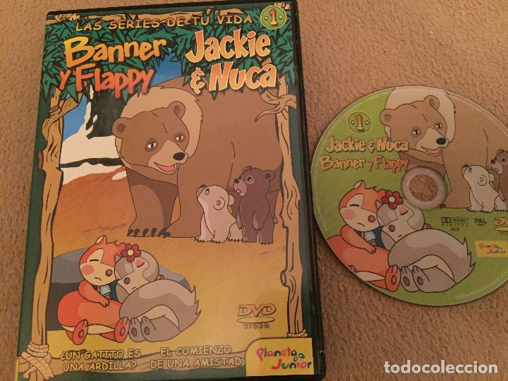 BANNER Y FALLY JACKIE & NUCA DVD VIDEO KREATEN PLANETA JUNIOR (Cine - Películas - DVD)