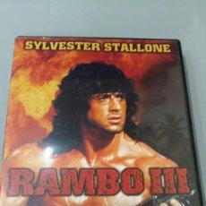 Cine: RAMBO 3 SYLVESTER STALLONE. Lote 110665294