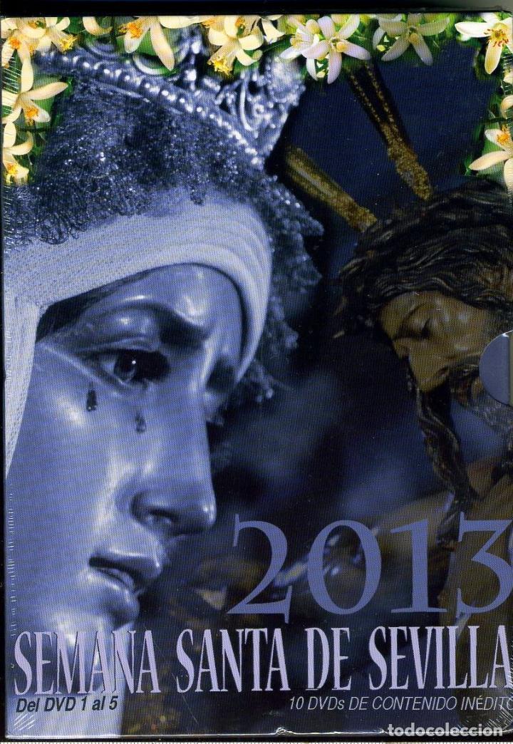 Cine: MAGNIFICO PACK DE 6 DVD SEMANA SANTA DE SEVILLA 2013 PRECINTADO - Foto 2 - 110775307