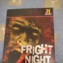 Cine: DVD 8 TOTAL FRIGHT NIGHT -EN INGLES -DOCUMENTALES FANTASMAS --REFM3E1. Lote 110790175