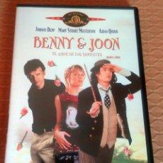Cine: DVD --- BENNY & JOON --- CON JOHNNY DEPP , MARY STUART MASTERSON, JULIANNE MOORE Y AIDAN QUINN. Lote 110793739