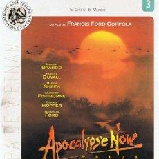 Cine: DVD APOCALYPSE NOW REDUX MARLON BRANDO. Lote 110802119