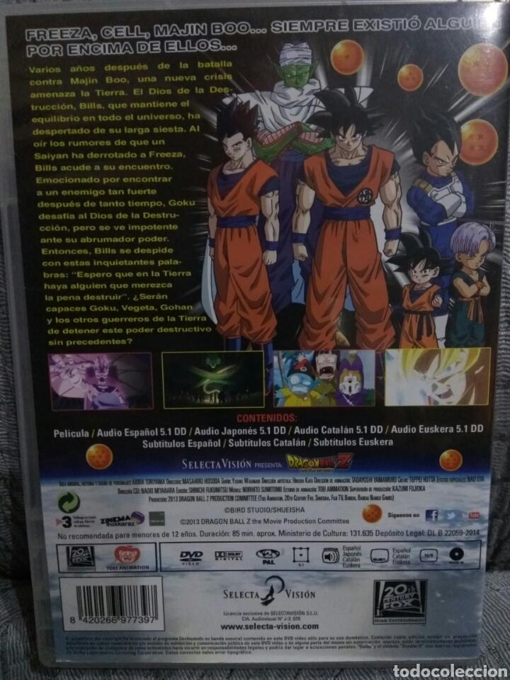 Pelicula Dvd Dragon Ball La Batalla De Los Dioses