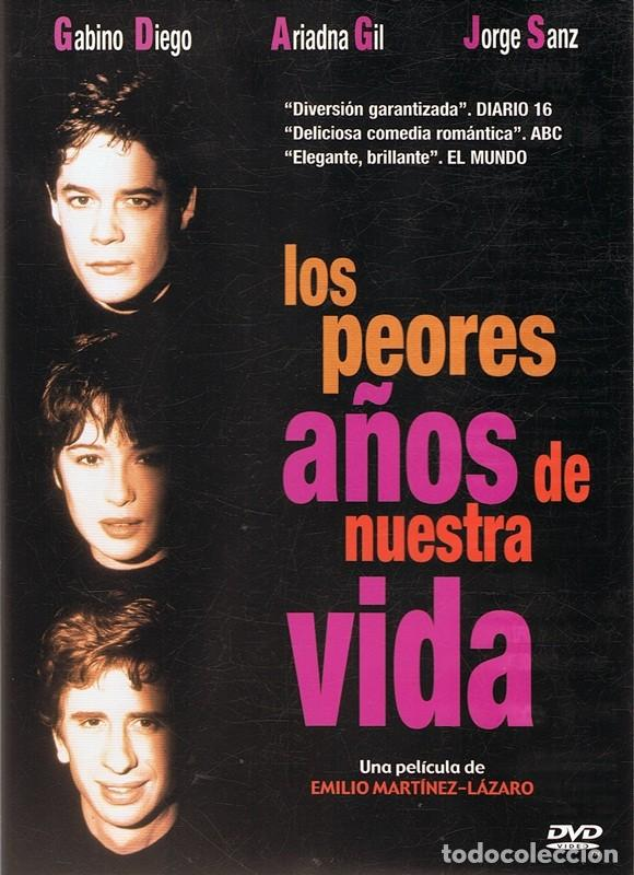DVD LOS PEORES AÑOS DE NUESTRA VIDA JORGE SANZ (Cine - Películas - DVD)