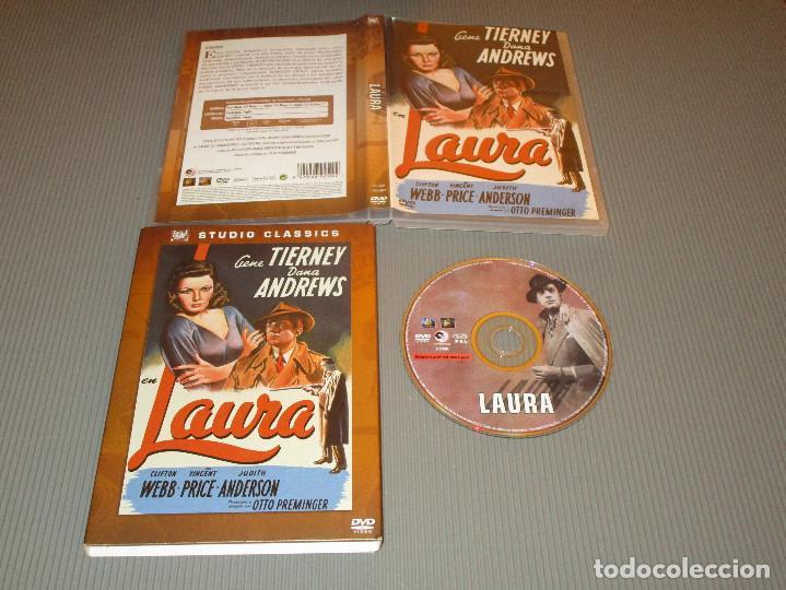 LAURA - DVD - EDICION F5-OES 0109409 - STUDIO CLASSICS - GENE TIERNEY - DANA ANDREWS (Cine - Películas - DVD)