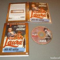 Cine: LAURA - DVD - EDICION F5-OES 0109409 - STUDIO CLASSICS - GENE TIERNEY - DANA ANDREWS. Lote 111050583
