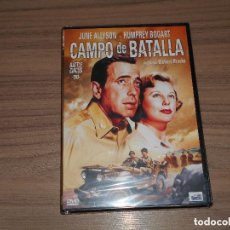 Cine: CAMPO DE BATALLA DVD HUMPHREY BOGART JUNE ALLYSON NUEVA PRECINTADA. Lote 194293411