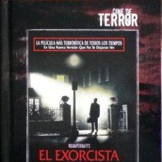 Cine: TODODVD: EL EXORCISTA. COLECCIÓN CINE DE TERROR EL PAÍS. DVD + LIBRO.. Lote 111109919