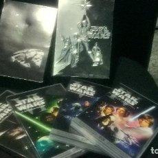 Cine: CINE DVD: TIRLOGIA STAR WARS LOTE 4 DVD EPISODIOS IV - V - VI + OTRO CON 254 MIN DE EXTRAS . Lote 111281315