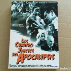 Cine: DVD SOLO FUNDA CARTON-LOS 4 JINETES DEL APOCALIPSIS. Lote 111283883