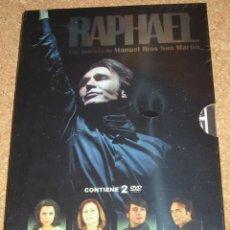 Cine: RAPHAEL - PELICULA DE MANUEL RIOS 2010 CON 2 DVD PRECINTADO SIN USO,IMPORTANTE LEER TODO. Lote 111343307